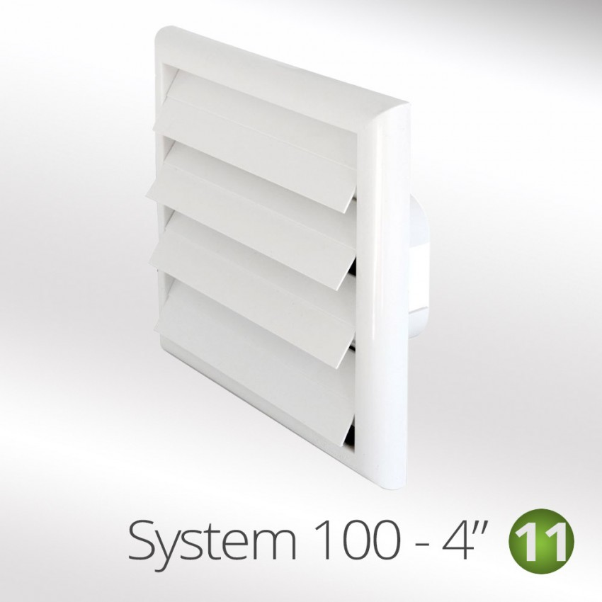 100mm outside grille vents