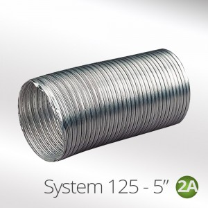 Aluminium Semi Rigid Flexible Ducting Hose
