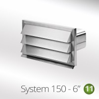 Outside Ducting Vent Stainless Steel