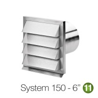 Quality Stainless Steel Outside Vents