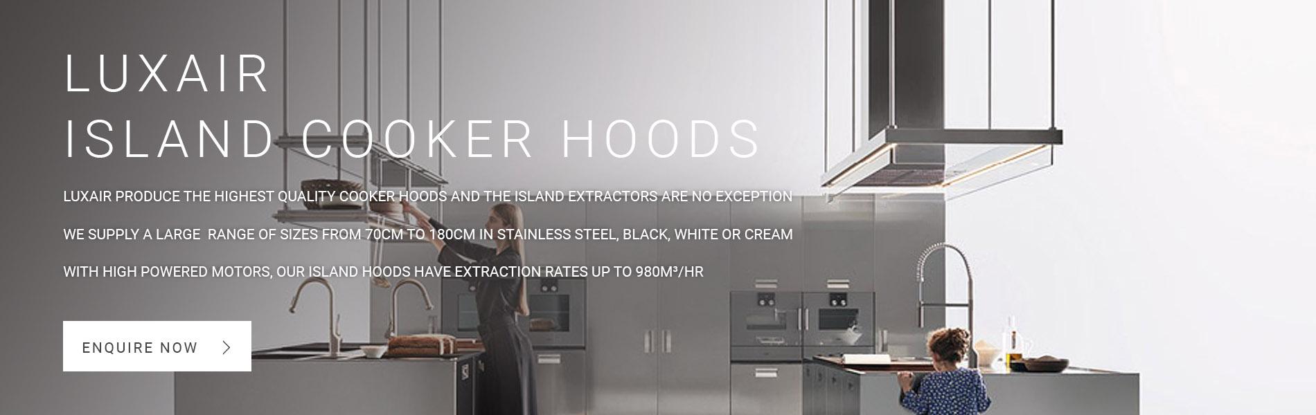 Island Cooker Hood Extractors