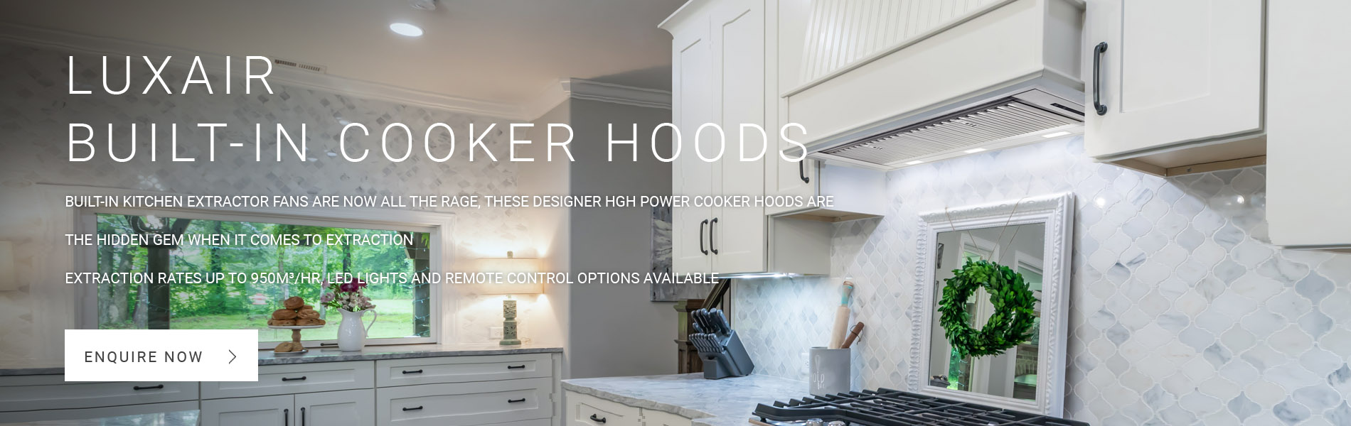 Built-In Cooker Hoods