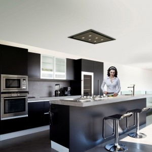 Anzi 90cm Ceiling with Wall Mounted External Motor