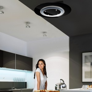 Gravity Ceiling Hood - Black