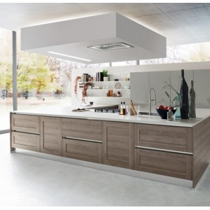 Soffitto 120cm Ceiling Hood - Stainless Steel