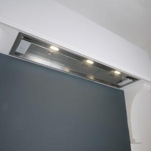 Tornia - 120cm - Designer Sleek Glass Visor Canopy Hood
