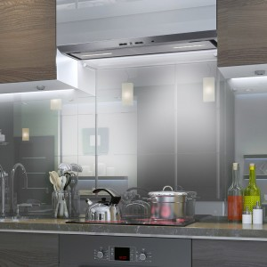 Canopy Extractor Hood 54cm LUX Stainless Steel