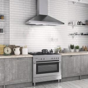 90cm Chimney Cooker Hood - Stainless Steel