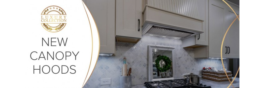 Canopy Cooker Hoods and Built in cooker hoods