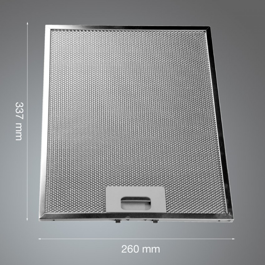 Metal Grease Filter 337mm x 260mm