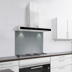 100cm FSL Slim With Glass Front - Stainless Steel