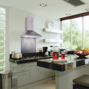 100cm Chimney Hood - Stainless Steel