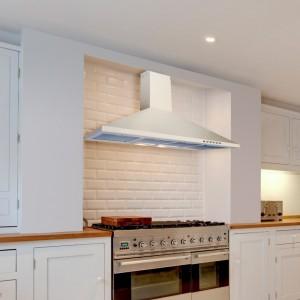 80cm Cooker Hood White Premium Hood