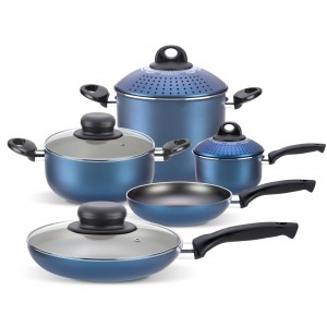 Quality 9 Piece Induction Pan Set