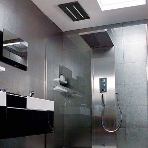 Bathroom Fan 350mm Black
