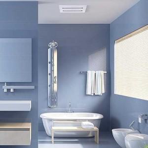 Bathroom Fan 350mm White