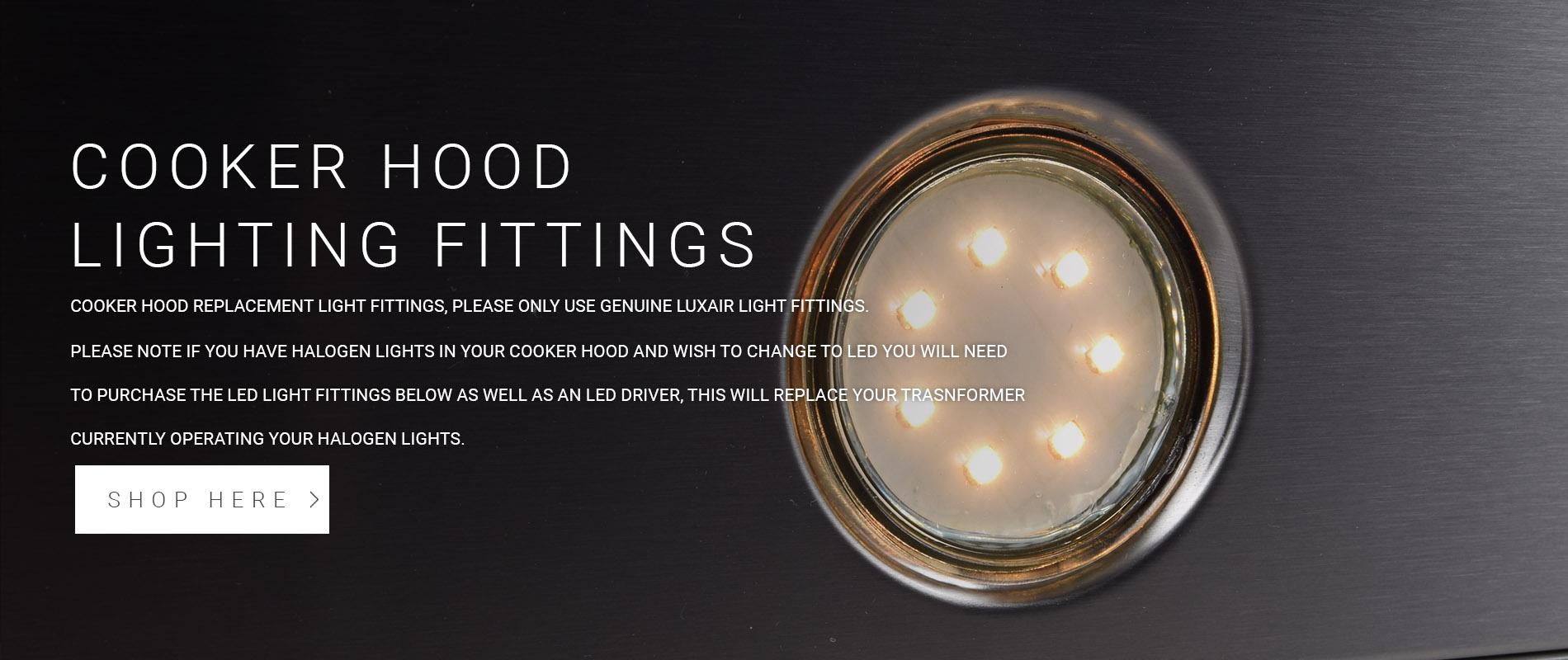 Cooker Hood Light Fittings