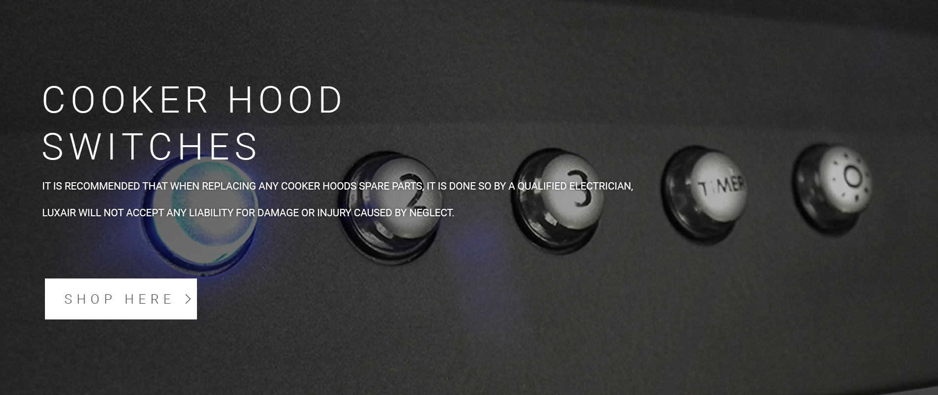 Cooker Hood Switches
