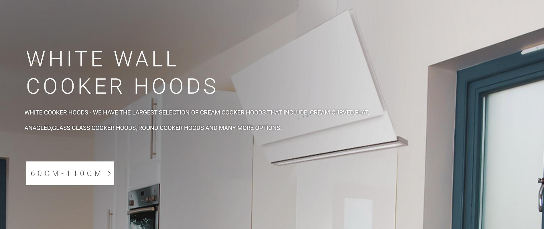 White Cooker Hoods
