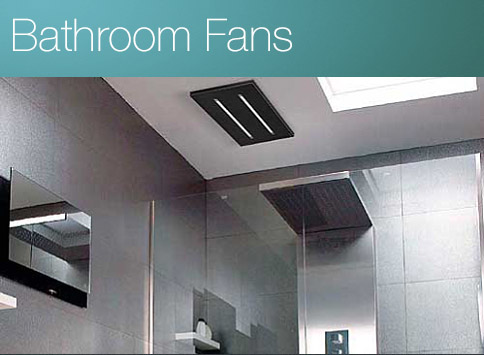 Designer Bathroom Fans